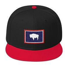 Wyoming Flag - Snapback Hat (Multi Colors)