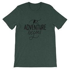 The Adventure Begins - T-Shirt (Multi Colors)