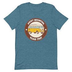Rocky Mountain Road Trip - T-Shirt (Multi Colors)