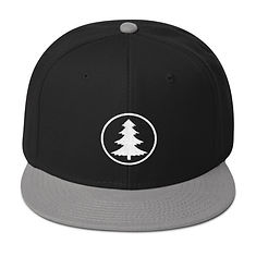 The Rockies Collection - Pine Tree - Snapback Hat (Multi Colors)