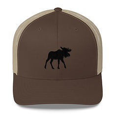 Black Moose - Trucker Cap (Multi Colors) The Rocky Mountains Canadian American Rockies