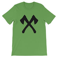 Crossed Axe - T-Shirt (Multi Colors) The Rocky Mountains Canadian American Rockies