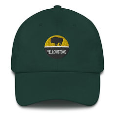 Yellowstone - Baseball / Dad hat (Multi Colors) The Rockies American Rocky Mountains