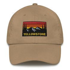 Yellowstone Wyoming Montana Idaho - Baseball / Dad hat (Multi Colors) The Rockies American Rocky Mountains