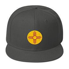 Taos New Mexico USA - Snapback Hat (Mult
