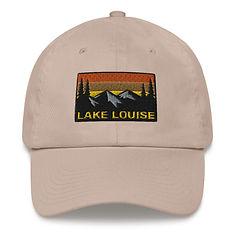 Lake Louise Alberta - Baseball / Dad hat (Multi Colors) Canadian Rocky Mountains