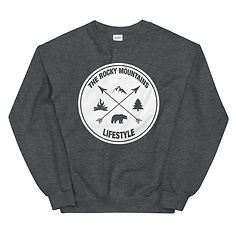 The Rocky Mountains Lifestyle - Sweatshirt (Multi Colors) Canadian American Rockies