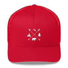 The Rockies Lifestyle - Trucker Cap (Multi Colors) Canadian American Rocky Mountains