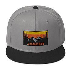 Jasper Alberta Canada - Snapback Hat (Multi Colors) Canadian Rockies