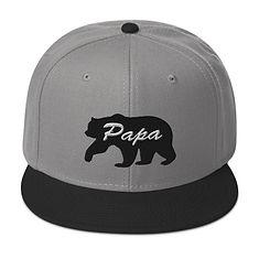Papa Bear - Snapback Hat (Multi Colors)