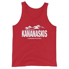 Kananaskis Country Alberta Canada - Tank Top (Multi Colors) The Rockies Canadian Rocky Mountains