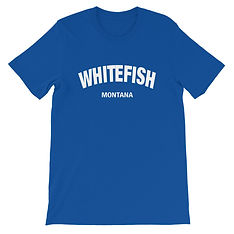Whitefish Montana - T-Shirt (Multi Colors) The Rocky Mountains, American Rockies