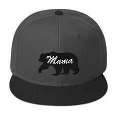 Mama Bear - Snapback Hat (Multi Colors)