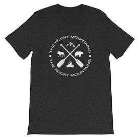 The Rockies Collection - The Rocky Mountains - T-Shirt (Multi Col