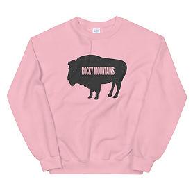 Rocky Mountain Bison - Sweatshirt (Multi Colors)