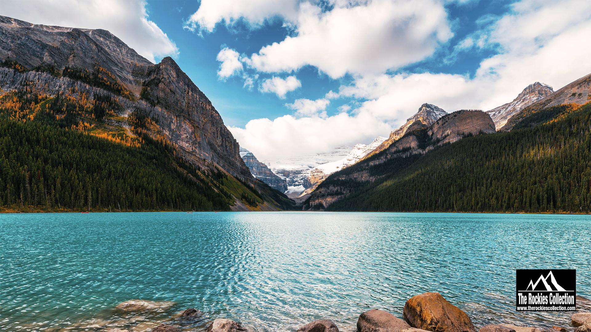 LAKE LOUISE - BANFF CANADIAN ROCKIES