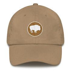 Bison Crest - Baseball / Dad hat (Multi Colors)