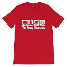 The Rocky Mountains - T-Shirt (Multi Colors)
