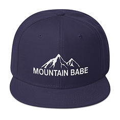 Mountain Babe - Snapback Hat (Multi Colors)