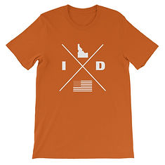 Idaho Lifestyle - T-Shirt (Multi Colors) The Rockies American Rocky Mountains