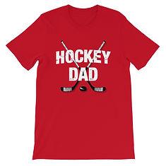 Hockey Dad - T-Shirt (Multi Colors)