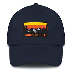 Jackson Hole Wyoming - Baseball / Dad hat (Multi Colors) The Rockies American Rocky Mountains