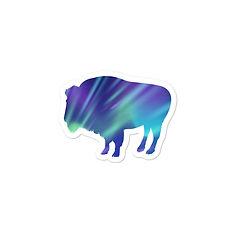 Aurora Bison - Vinyl Bubble-free sticker