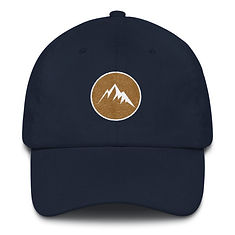 Mountain Crest - Dad hat (Multi Colors) The Rocky Mountains Canadian American Rockies