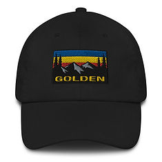 Golden British Columbia - Baseball / Dad hat (Multi Colors) The Rocky Mountains Canadian Rockies