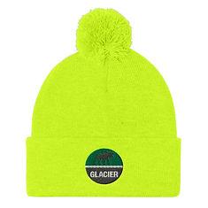 Glacier - Pom Pom Knit Cap (Multi Colors)