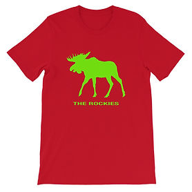 The Rockies Collection - The Rockies Moose - T-Shirt (Multi Color
