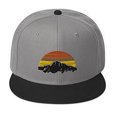 Mountain Sunset - Snapback Hat (Multi Colors)