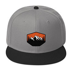 Sunset Mountains & Pines - Snapback Hat