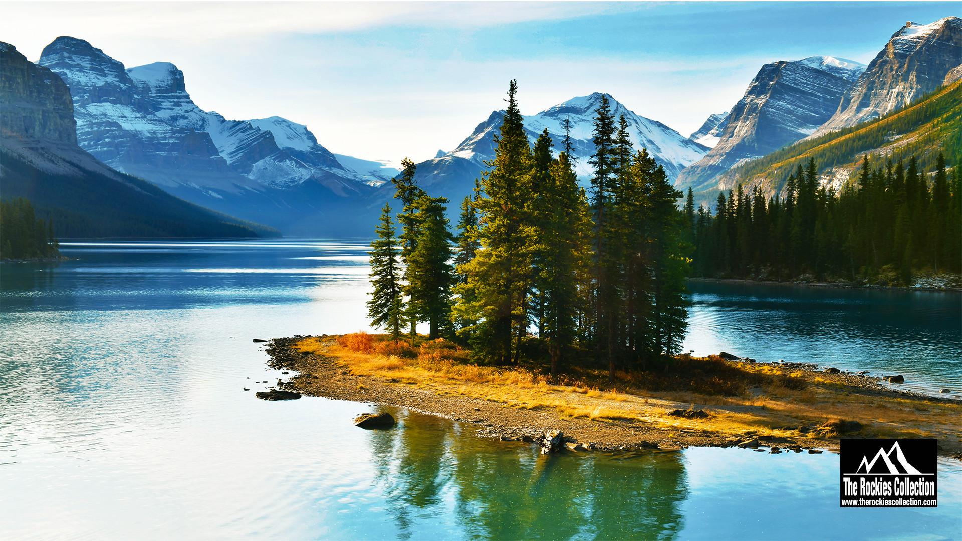 SPIRIT ISLAND - JASPER CANADIAN ROCKIES