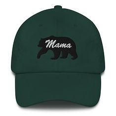 Mama Bear - Baseball / Dad hat (Multi Colors)
