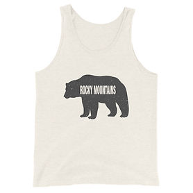 The Rockies Collection - Rocky Mountain Bear - Tank Top (Multi Co