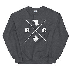 British Columbia Lifestyle - Sweatshirt (Multi Colors) The Rockies Canadian Rocky Mountains