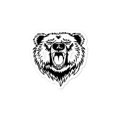 Bear - Vinyl Bubble-free stickers