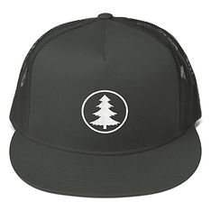 The Rockies Collection - Pine Tree - Mesh Back Snapback