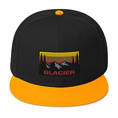 Glacier - Snapback Hat (Multi Colors) The Rocky Mountains