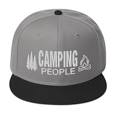 Camping People - Snapback Hat (Multi Colors)