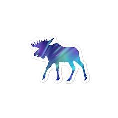 Aurora Moose - Vinyl Bubble-free sticker
