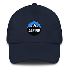 Alpine - Baseball / Dad hat (Multi Colors) The Rocky Mountains Canadian American Rockies