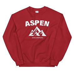 Aspen Colorado USA - Sweatshirt (Multi Colors) The Rockies American Rocky Mountains