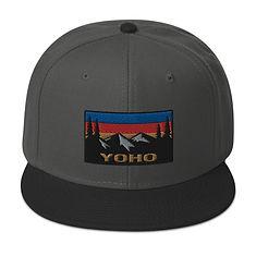 Yoho British Columbia - Snapback Hat (Multi Colors) The Rockies Canadian Rocky Mountains