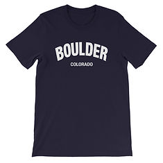 Boulder Colorado - T-Shirt (Multi Colors) The Rocky Mountains American Rockies