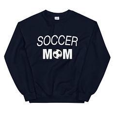 Soccer Mom - Sweatshirt (Multi Colors)