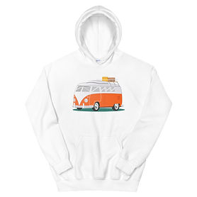 Campervan - Hoodie (Multi Colors) The Rocky Mountains