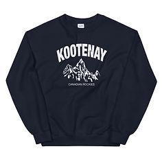 Kootenay British Columbia Canada - Sweatshirt (Multi Colors) The Rockies Canadian Rocky Mountains