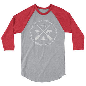The Rockies Collection - The Rocky Mountains - 3:4 sleeve raglan